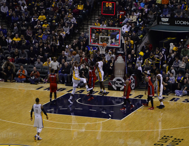 Pacers buzzer