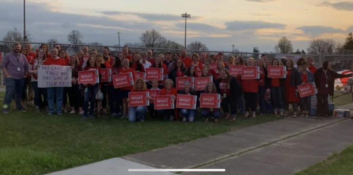 Hoosiers rally for #RedforEd; Payday of reckoning; and Trump vetoes measure to end US involvement in Yemen war