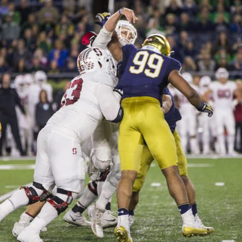 Jerry Tillery Selected No. 28 Overall by the Los Angeles Chargers