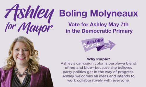 Ashley Boling-Molyneaux Releases Second Radio Ad