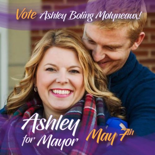 Ashley Bolin Molyneaux releases first in a series of primary ads