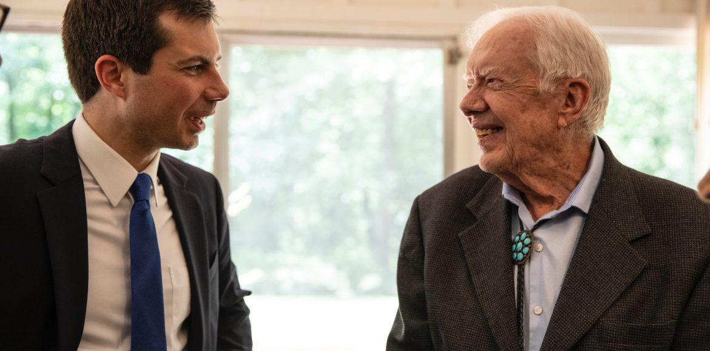 Mayor Pete Buttigieg Meets with Former President Jimmy Carter