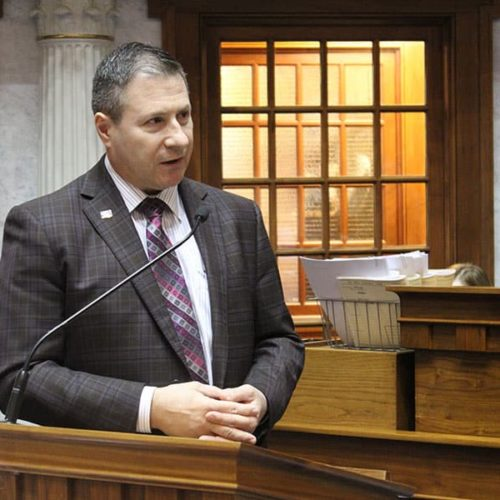 State Senator David Niezgodski (D-South Bend) responds to IDVA lobbying scandal