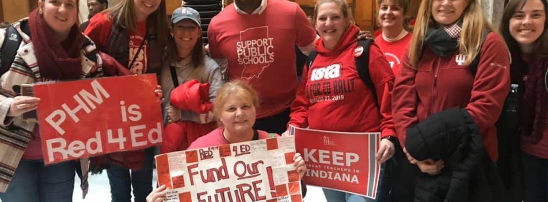 MELTON STANDS WITH EDUCATORS IN FIGHT FOR WHAT CHILDREN DESERVE