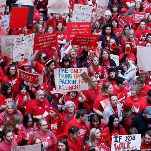 Red for Ed: 5 Common Misconceptions About the Issues Facing Teachers