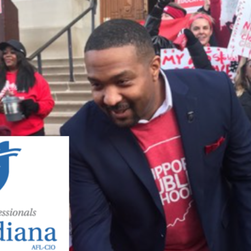 AFT Indiana Endorses Senator Eddie Melton for Governor