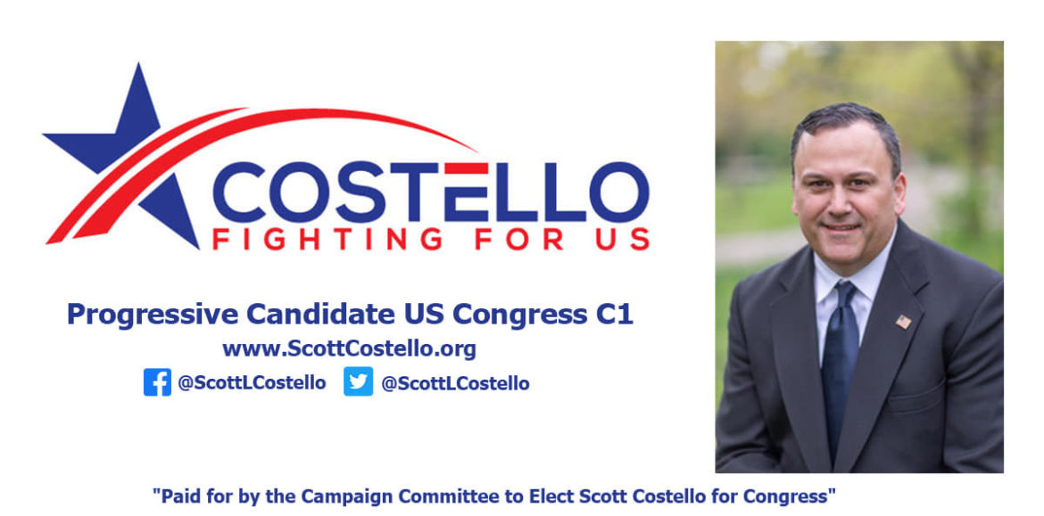 Democracy can Continue with Virtual Town Halls by Congressional Candidate Costello