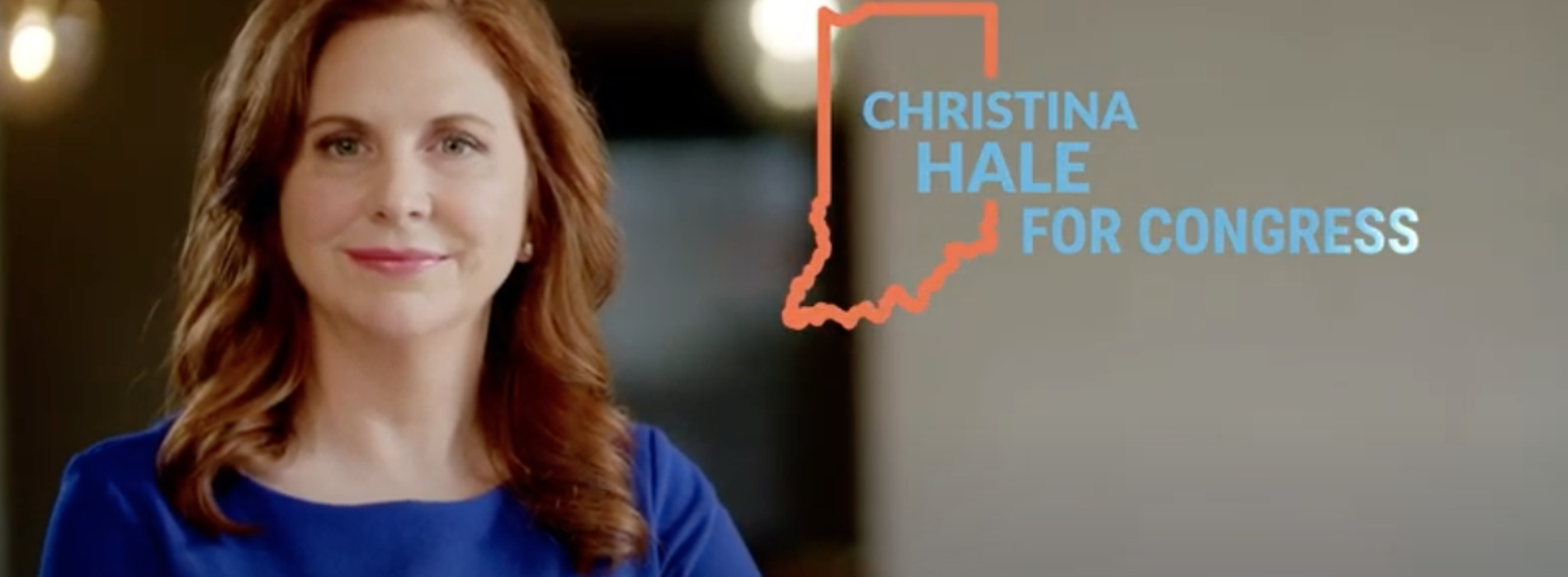 Christina Hale Releases First Television Ad
