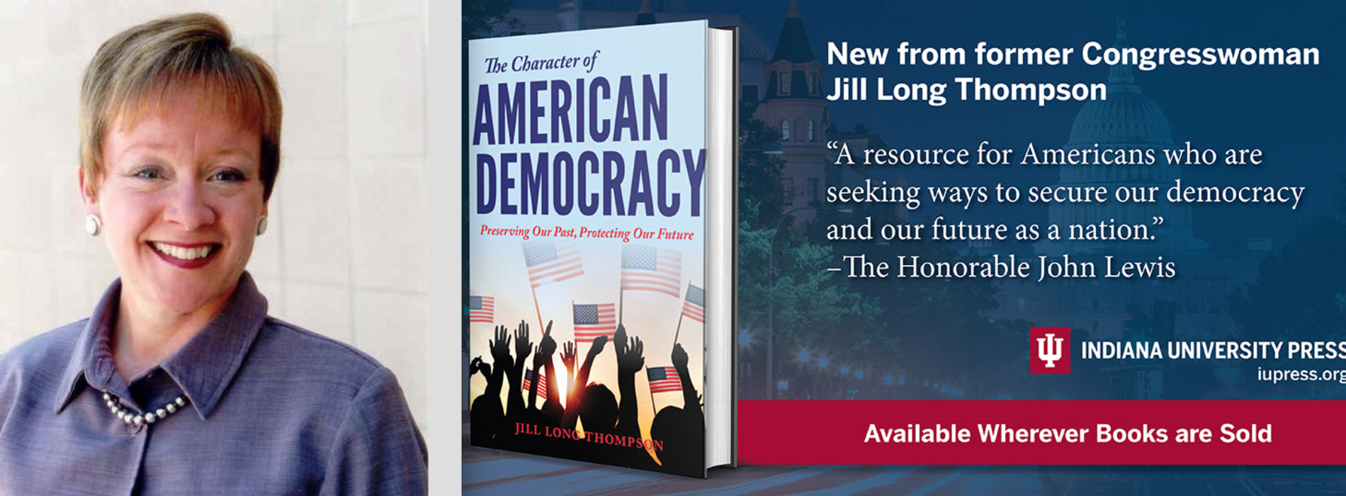 Jill Long Thompson on The SnydeReport with Gary Snyder