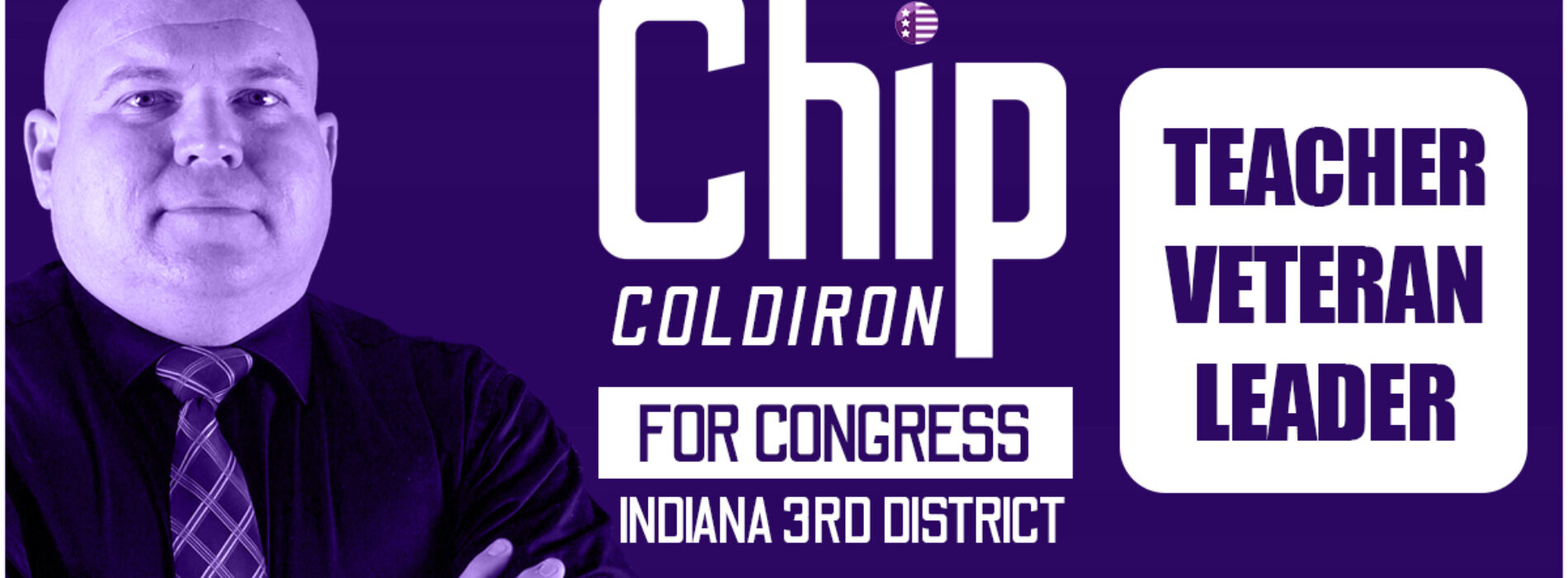 Democrat Chip Coldiron launches first radio ad in Indiana's 3rd Congressional District