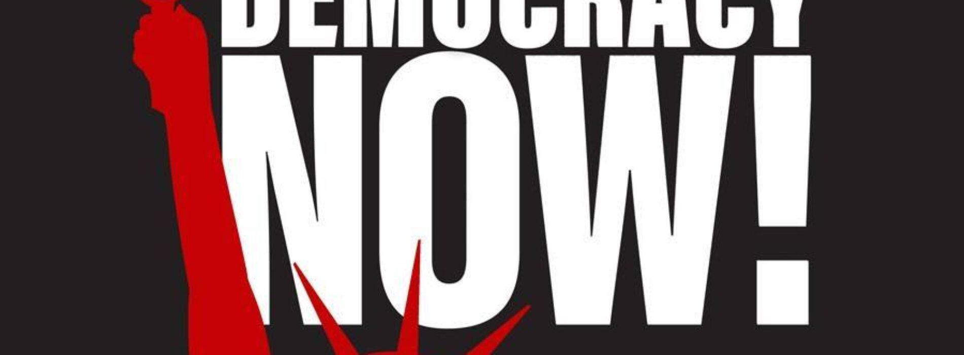Democracy NOW!, weekdays 8-9a