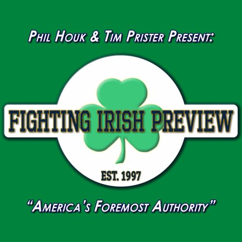 Fighting Irish Preview, Saturday at 11a, starting September 4th